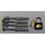 Zestaw montażowy blokady na klucz
