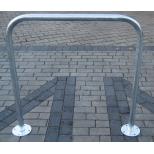 Stojak rowerowy, na rowery bramka