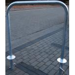 Stojak rowerowy, na rowery bramka do wbetonowania
