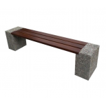 Ławka betonowa Industry 3 BO