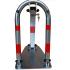 Blokada zapora parkingowa U na klucz ocynk galwaniczny