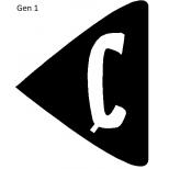 Etykieta odblaskowa U-1d/e