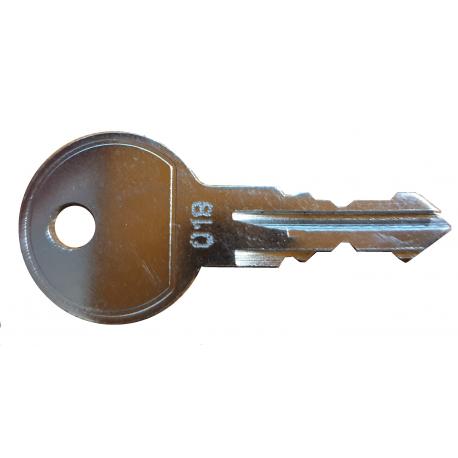 Klucz do blokad parkingowych BIS, U